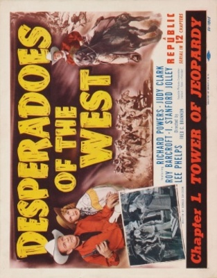 Desperadoes of the West movie poster (1950) poster MOV_4e5d6f4e