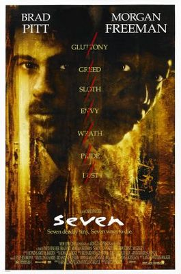 Se7en movie poster (1995) poster MOV_4e5ecbf3