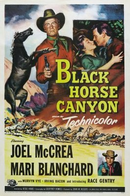 Black Horse Canyon movie poster (1954) poster MOV_4e74ba83