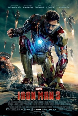 Iron Man 3 movie poster (2013) poster MOV_4e88be6a