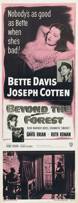 Beyond the Forest movie poster (1949) poster MOV_4e8a8bfb