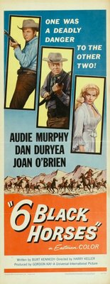 Six Black Horses movie poster (1962) poster MOV_4eb75acf