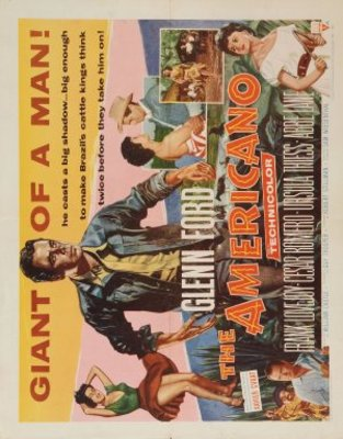 The Americano movie poster (1955) poster MOV_4ed07a3b