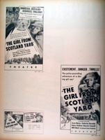 The Girl from Scotland Yard movie poster (1937) picture MOV_4edb2a82
