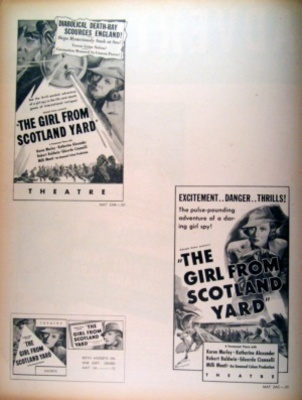 The Girl from Scotland Yard movie poster (1937) poster MOV_4edb2a82