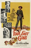 Four Fast Guns movie poster (1960) picture MOV_4edf0d3a
