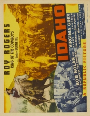 Idaho movie poster (1943) poster MOV_4ee097ec