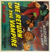 The Return of the Vampire movie poster (1944) picture MOV_4ee64b08