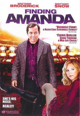 Finding Amanda movie poster (2008) poster MOV_4eec8b9c