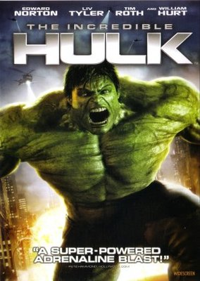 The Incredible Hulk movie poster (2008) poster MOV_4efb8c36
