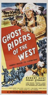 The Phantom Rider movie poster (1946) poster MOV_4f054f96