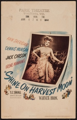 Shine on Harvest Moon movie poster (1944) poster MOV_4f28df35