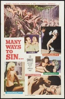 Many Ways to Sin movie poster (1960) picture MOV_4f51fd44