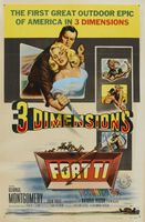 Fort Ti movie poster (1953) picture MOV_4f687be6