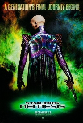 Star Trek: Nemesis movie poster (2002) poster MOV_4f733302