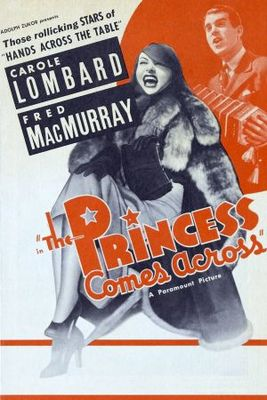 The Princess Comes Across movie poster (1936) poster MOV_4f8052f8