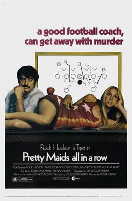 Pretty Maids All in a Row movie poster (1971) poster MOV_4f9bc997