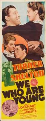 We Who Are Young movie poster (1940) poster MOV_4f9ec2ac
