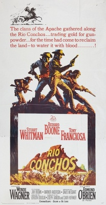 Rio Conchos movie poster (1964) poster MOV_4fa4ceb4
