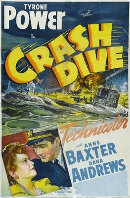 Crash Dive movie poster (1943) poster MOV_4fb04c7d