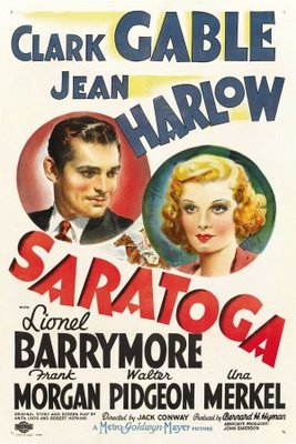 Saratoga movie poster (1937) poster MOV_4fb96936