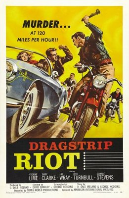 Dragstrip Riot movie poster (1958) poster MOV_4fc62c62