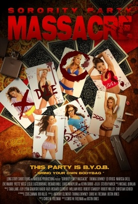 Sorority Party Massacre movie poster (2013) poster MOV_4fd559f1