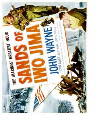 Sands of Iwo Jima movie poster (1949) poster MOV_4fe6ff41