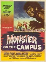 Monster on the Campus movie poster (1958) picture MOV_4feb9b23