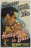 Honeymoon in Bali movie poster (1939) picture MOV_4fef959e