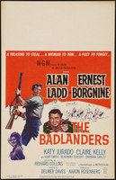 The Badlanders movie poster (1958) picture MOV_4tyqfeqq