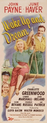 Wake Up and Dream movie poster (1946) poster MOV_5015cda6