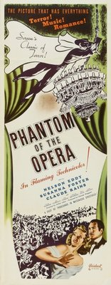 Phantom of the Opera movie poster (1943) poster MOV_501efbf4