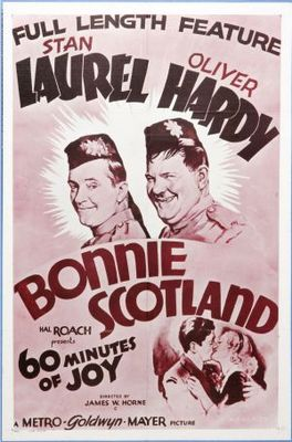 Bonnie Scotland movie poster (1935) poster MOV_506cd452