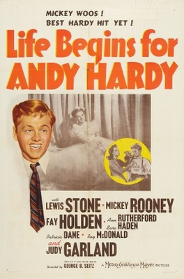 Life Begins for Andy Hardy movie poster (1941) poster MOV_507b2d08