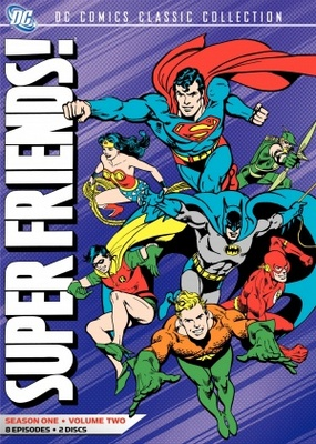 Super Friends movie poster (1973) poster MOV_5091089d