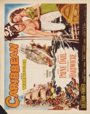 Caribbean movie poster (1952) poster MOV_50a083db
