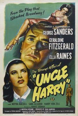 The Strange Affair of Uncle Harry movie poster (1945) poster MOV_50c16250