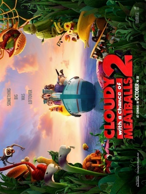 Cloudy with a Chance of Meatballs 2 movie poster (2013) poster MOV_50dac754