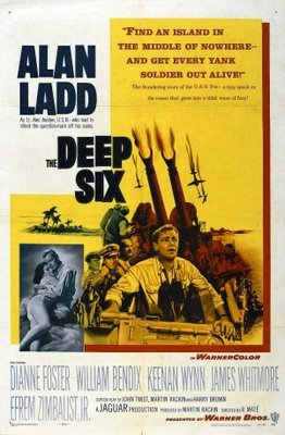 The Deep Six movie poster (1958) poster MOV_50ea92b3