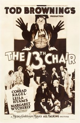 The Thirteenth Chair movie poster (1929) poster MOV_50f7a09c