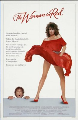The Woman in Red movie poster (1984) poster MOV_5113cbea