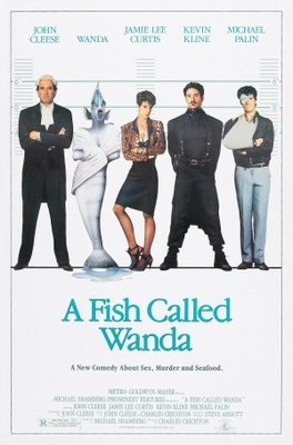A Fish Called Wanda movie poster (1988) poster MOV_51330e32