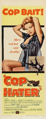 Cop Hater movie poster (1958) poster MOV_514160a3