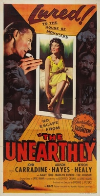 The Unearthly movie poster (1957) poster MOV_514f6508
