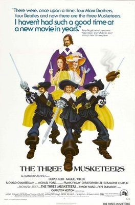 The Three Musketeers movie poster (1973) poster MOV_515987fb