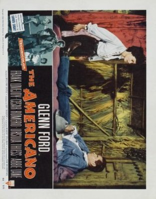 The Americano movie poster (1955) poster MOV_515f4650