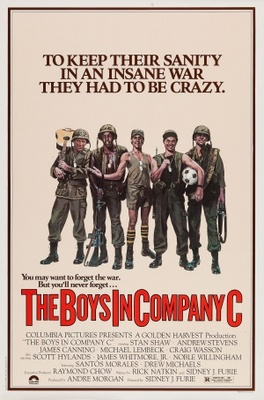 The Boys in Company C movie poster (1978) poster MOV_516d432e