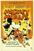 Mickey's Nightmare movie poster (1932) picture MOV_51b35043