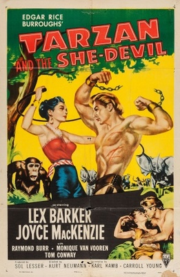 Tarzan and the She-Devil movie poster (1953) poster MOV_51e70f6c